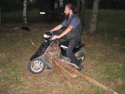 Лесовоз в Карелии - обычное дело