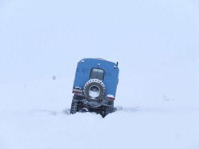 В районе оленеводческой базы Туманный.