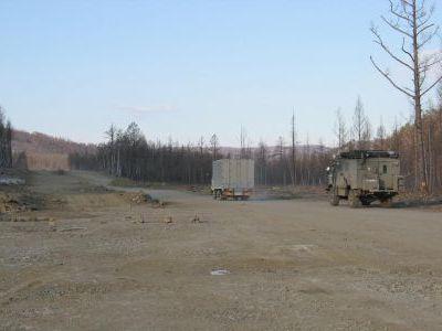 Знаменитая федеральная трасса Чита-Хабаровск