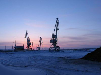 Зырянский порт.
