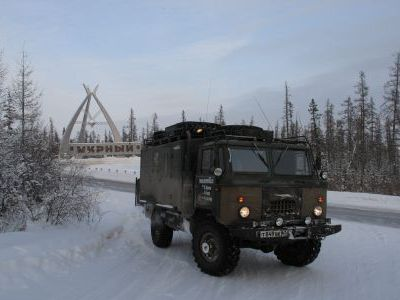 Зимник Усть-Кут - Мирный пройден! Идём на Якутск.