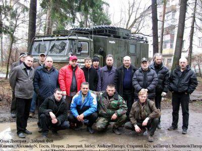 Встреча с www.gaz66.ru, проводы из Москвы