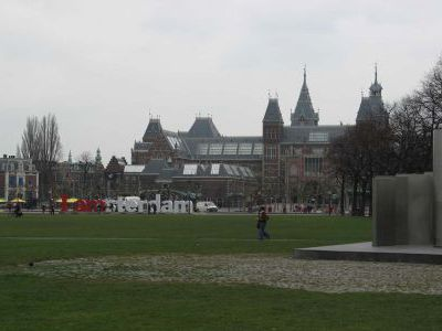 Ну и напоследок денёк в Амстердаме..