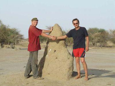 После ремонта Нивы мы с Биллом Морганом - друзья