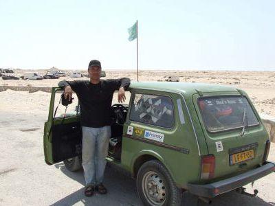 И вот мы пересекаем границу с Мавританией.