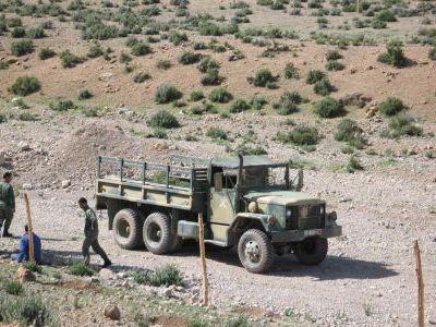 Мароканские военные.