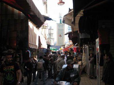 Центральный базар в Касабланке.