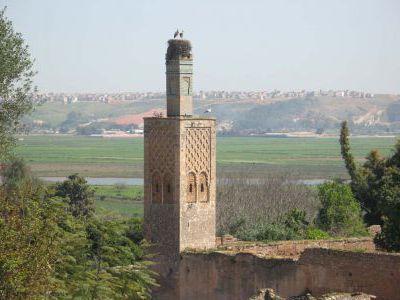 Старая крепость в Раббате.