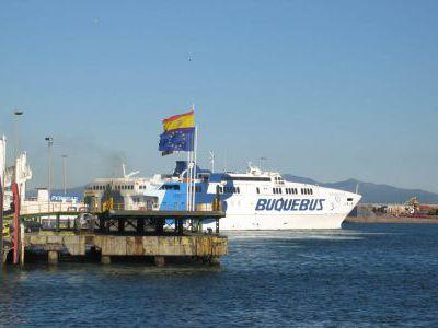 35 минут плавания через пролив Гибралтар