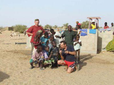 Европа-Африка. Путешествие на Ниве. Март 2008г.
