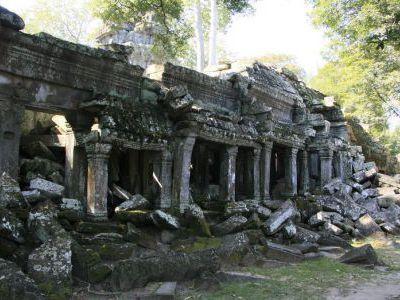 Храмы были обнаруженны не так давно, в конце 19 в