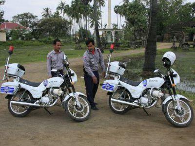 Камбоджийский мотобат.