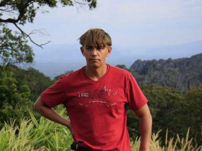 Виталик, наш проводник по Лаосу и Камбодже.
