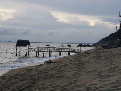 Пляж в Ланг-Ко.