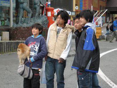 Японские пацаны...