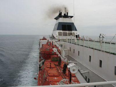 "Идём на Японию в порт Фусико на судне ""Русь""."