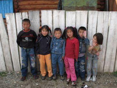Детишки Хавсугула...