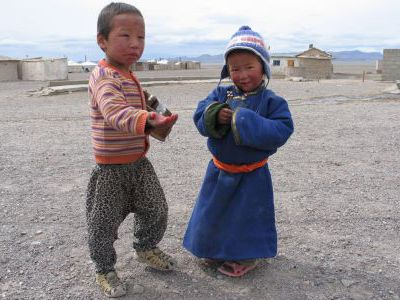 Монгольские детки.