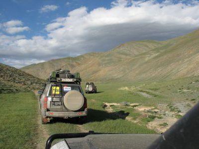 Первые километры по Монголии.