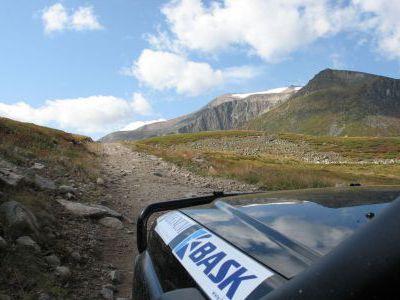 Подъем на перевал Тёплый Ключ, ворота плато Укок