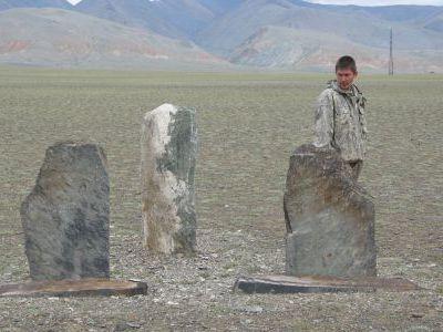 Наш проводник по плато Укок - Максим Зазаев.