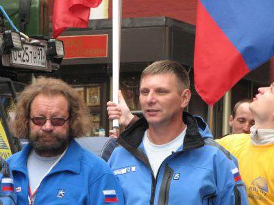 Несколько фото стартовых от друзей из клуба GAZ66.ru
