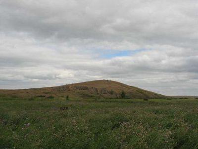 Священная гора Аркаима.