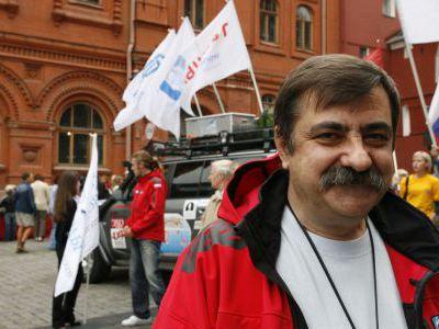 Руководитель экспедиции Владимир Павелко.
