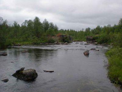 Мурманская обл. Классное местечко для рыбалки.