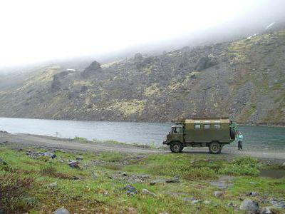 На самом высоком месте нашего маршрута в Хибинах.