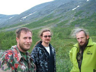 Три старинных друга. Алексей, Сергей и Иван.