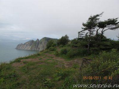 Наконец на побережье Охотского моря у Магадана