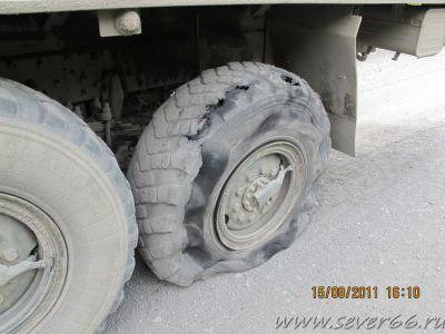Постоянные проблемы с колёсами из-за скальника