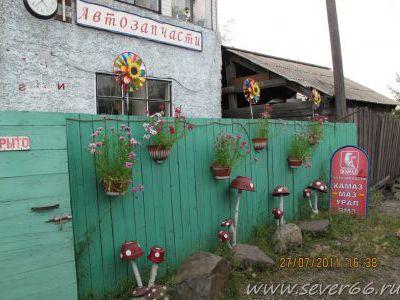 Симпатичный магазинчик запчастей в Хандыге.
