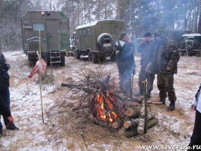 Новогодняя встреча клуба GAZ66.ru