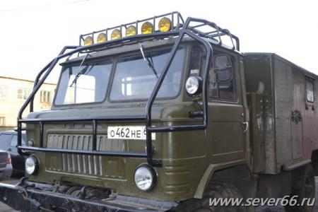 ГАЗ-66 с кунгом и дизельным двигателем для охоты