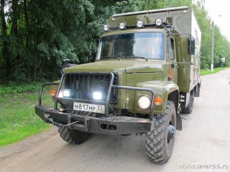 Доработка автомобиля ГАЗ-3308 Садко г.Брянск