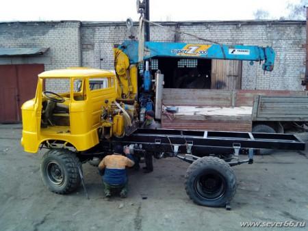 Восстановительный ремонт автомобиля IFA L50. 2014 г.
