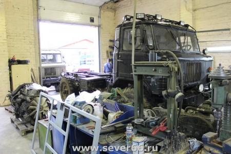 Установка на ГАЗ-66 двигателя HINO J07C и дополнительного оборудования