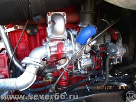 Установка дизельного двигателя ММЗ-245.9 на автомобиль ГАЗ-66